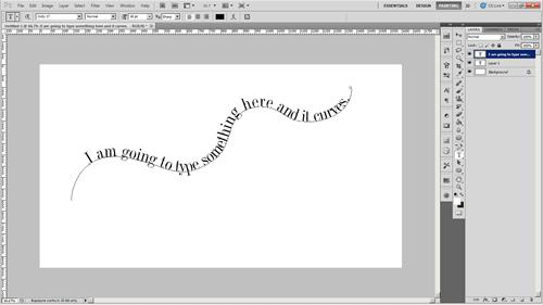 Photoshop Tip: Text Along a Curved Line – Karen B  Jones