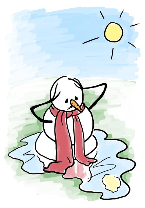 melting snowman sketch karen b jones rh karenbjones com melting snowman clipart black and white melting snowman clipart free