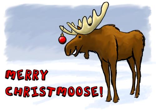 Christmoose