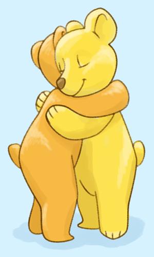 Hug Bears 2 500