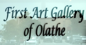 First Art Gallery of Olathe Window 500