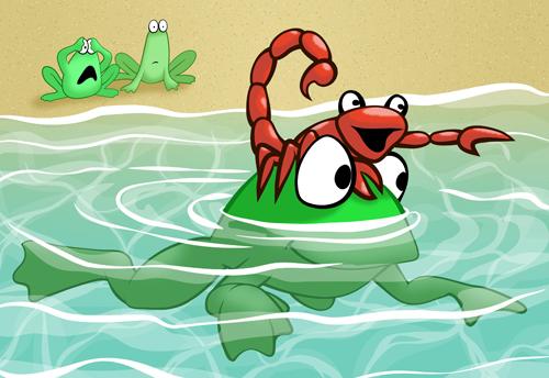 The Scorpion And The Frog Final Karen B Jones