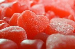 Gummy Hearts - Close Up