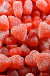 Gummy Hearts - Background