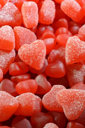 Gummy Hearts - Background