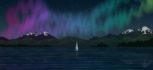 Northern Lights wip