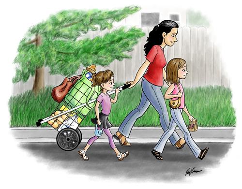 Walking Home 500