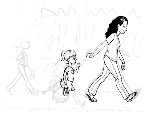 Walking Home - In Progress