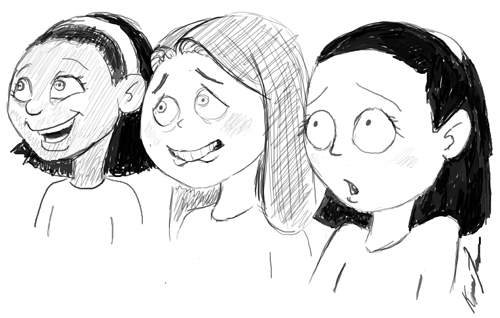 nervous girls 500
