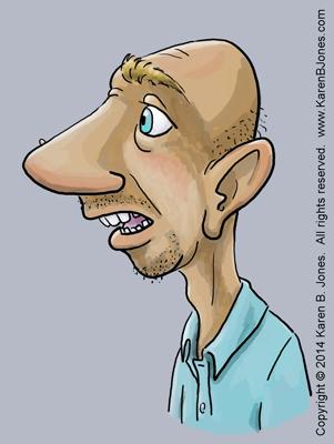cartoon faces - bumpkin - color 400