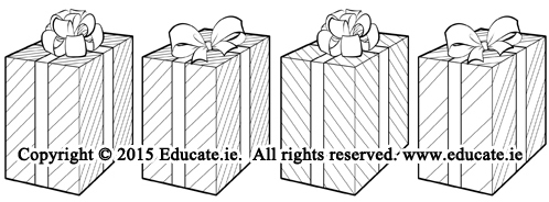 Four presents.