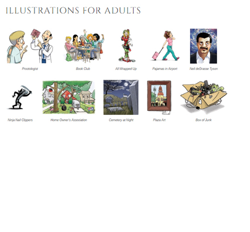 Illustrations for Adults