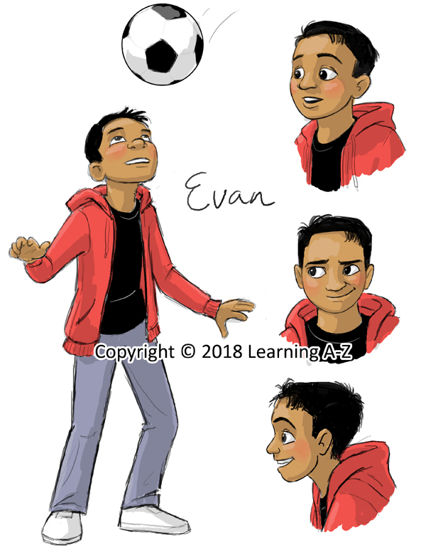Character Sketch - Evan - Web