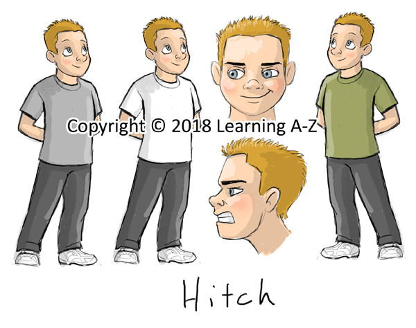Character Sketch - Hitch v2 - Web
