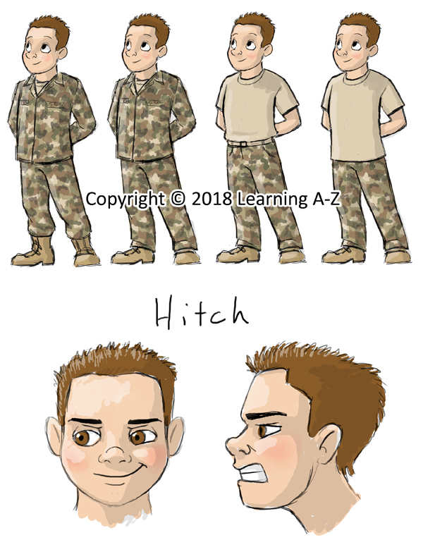 Character Sketch - Hitch - Web