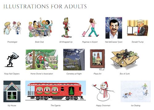 Illustrations for Adults 500