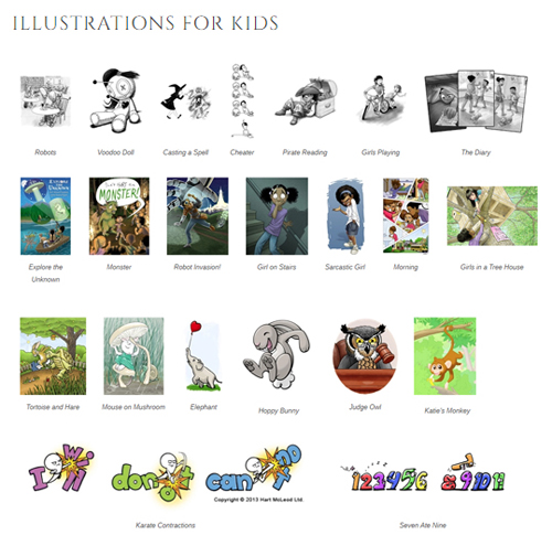 Illustrations for kids 500