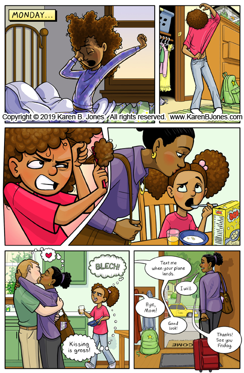 Kissing Story Sample Page 1
