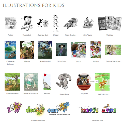 Illustrations for kids 500
