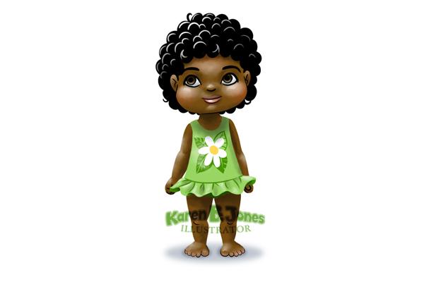 Girl, Age 2