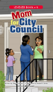 Mom for City Council - Cover