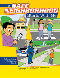 A Safe Neighborhood Starts with Me - Cover